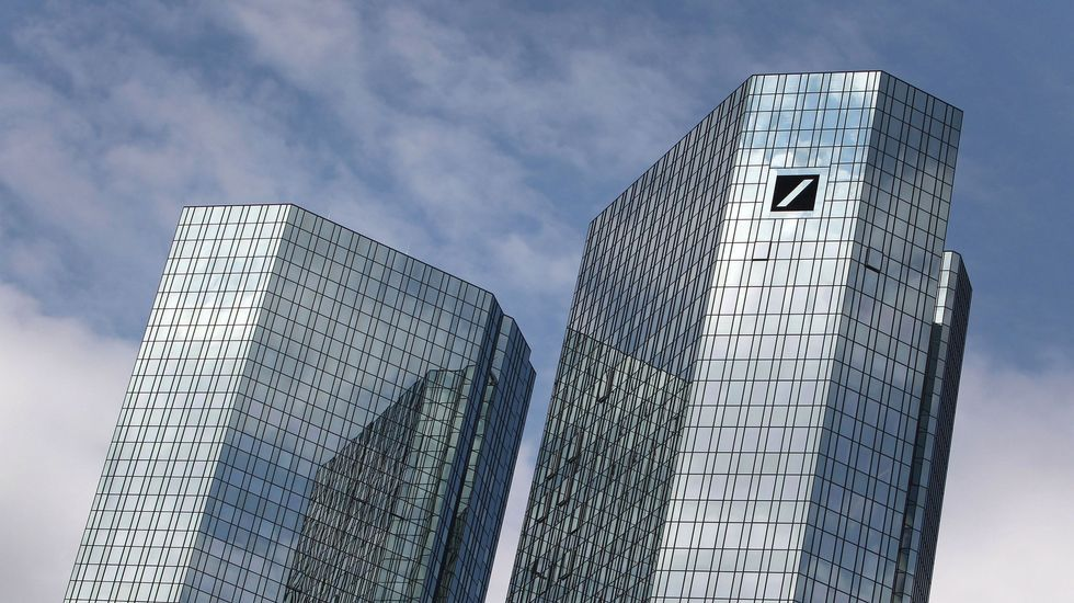 Sede de Deutsche Bank en Frankfurt