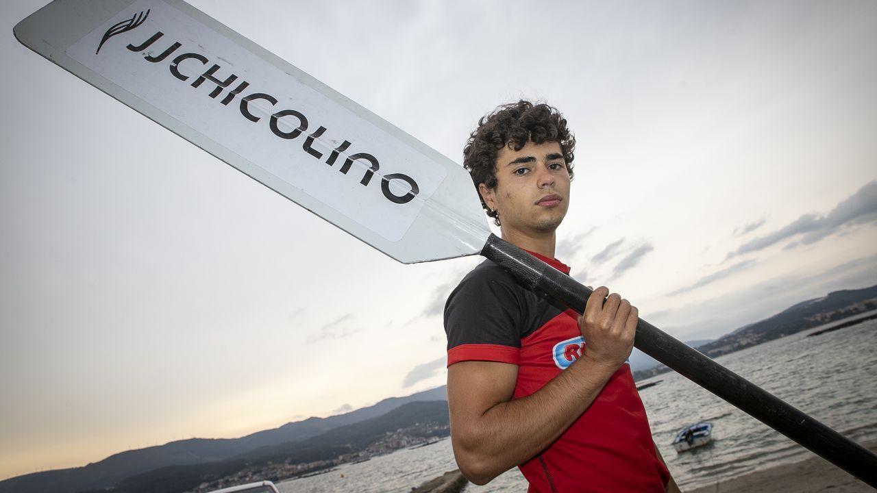 El equipo masculino se entrenó este lunes por última vez antes de viajar al País Vasco