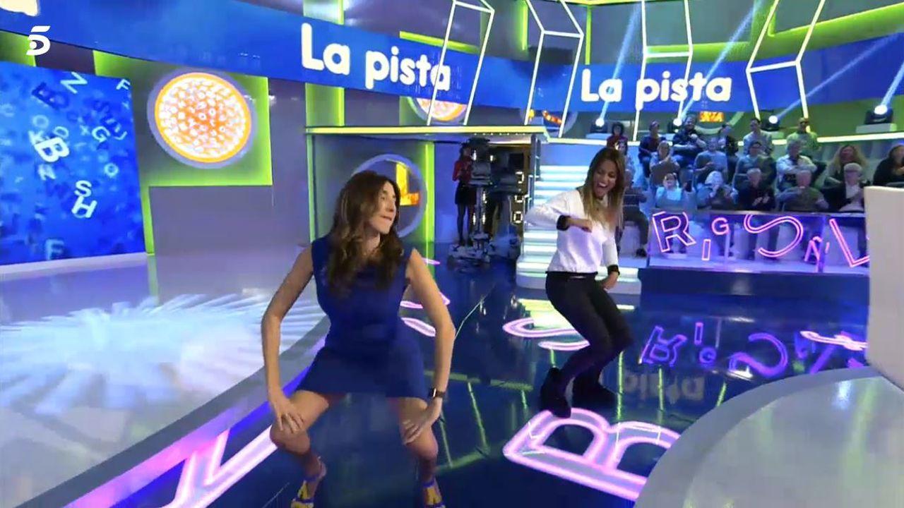 Paz Padilla reta a Lara Álvarez a un duelo de «twerking»