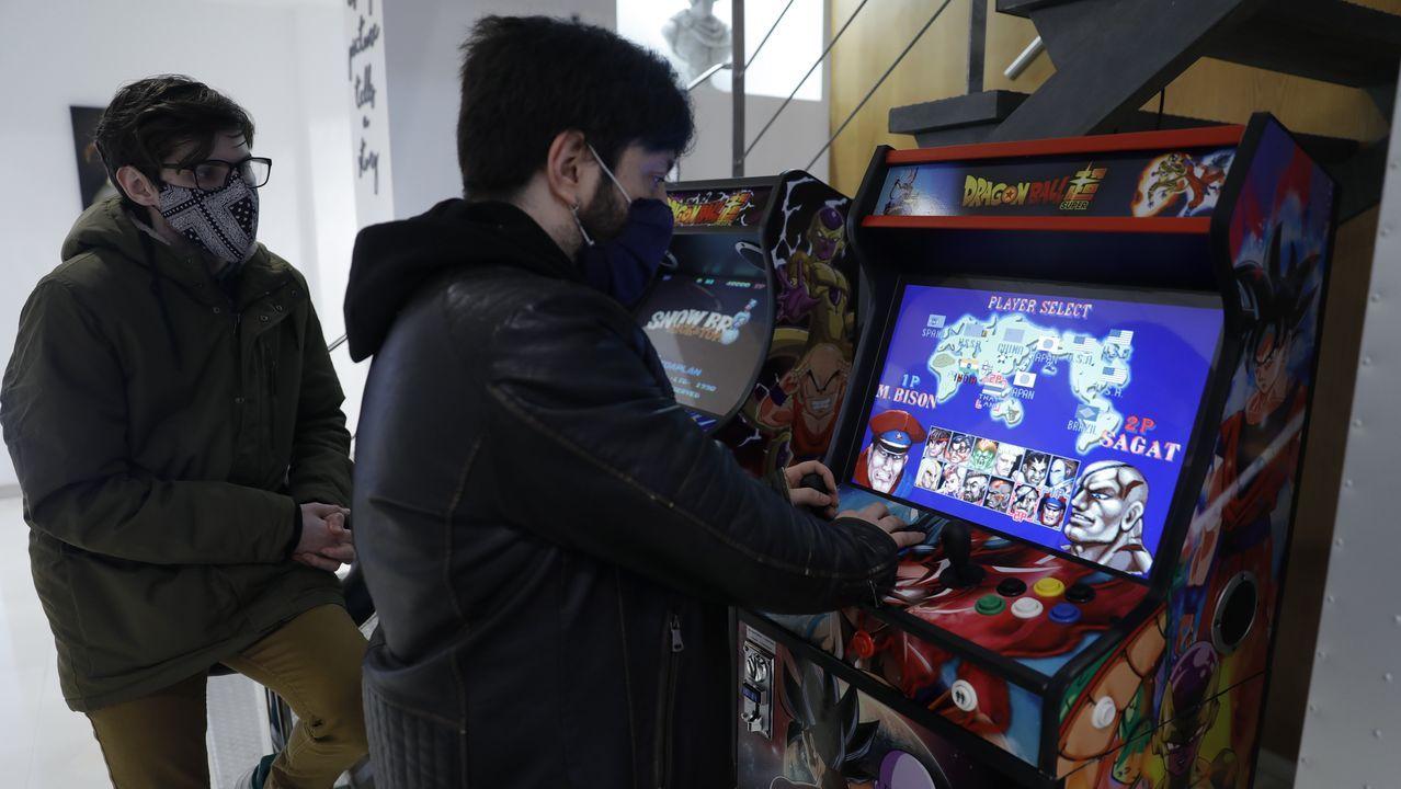 La sala de juegos arcade es uno de los atractivos de los espacios destinados al ocio del complejo