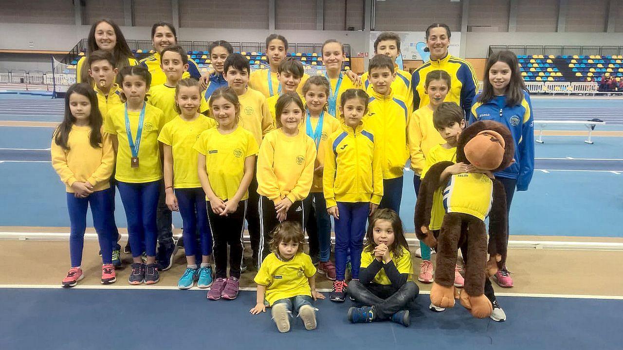 Entrega del premios del Campeonato Gallego de Optimist