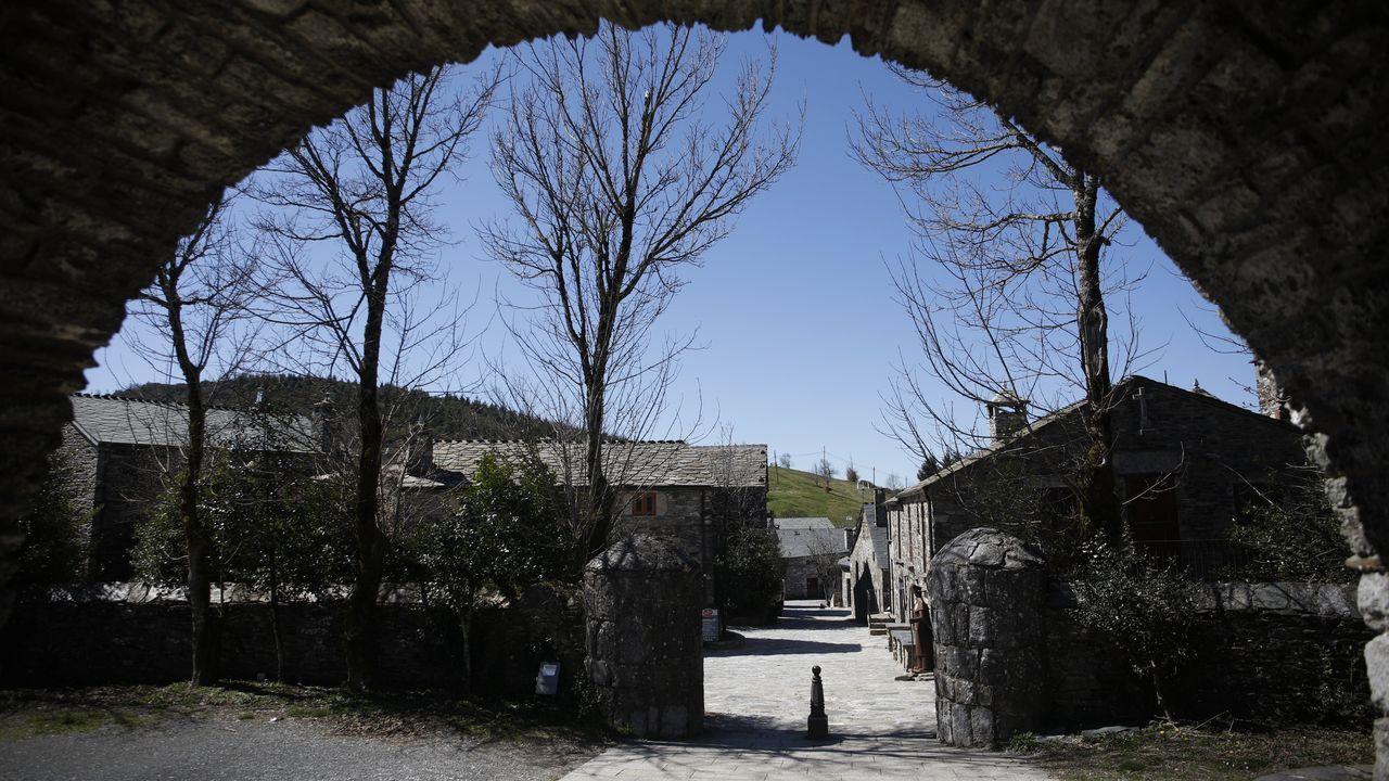 O Cebreiro, en el Camino de Santiago.