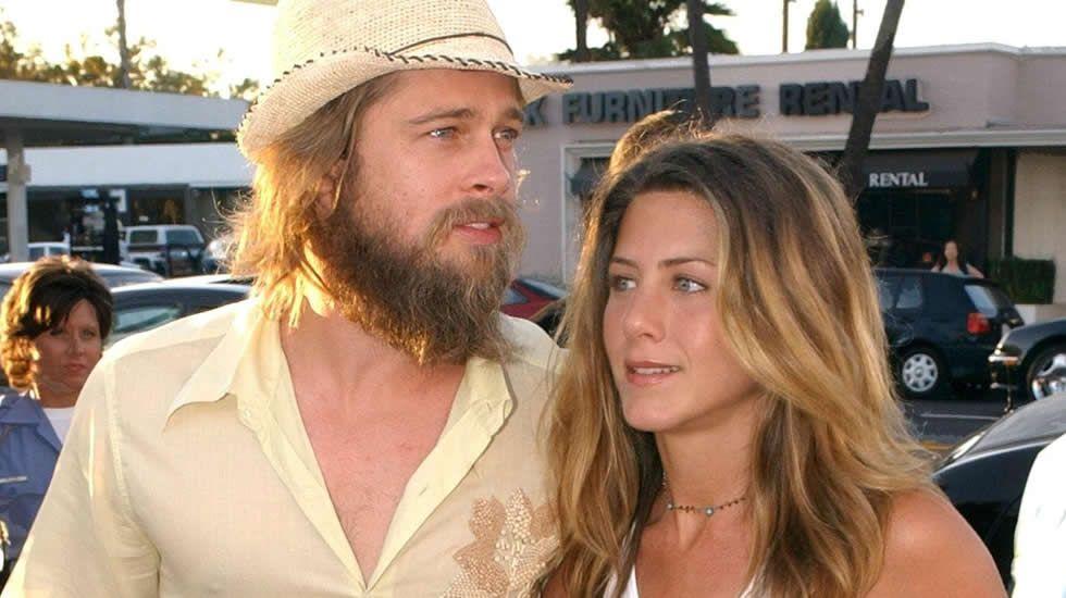 Brad Pitt y Jennifer Aniston, cuando aún estaban casados