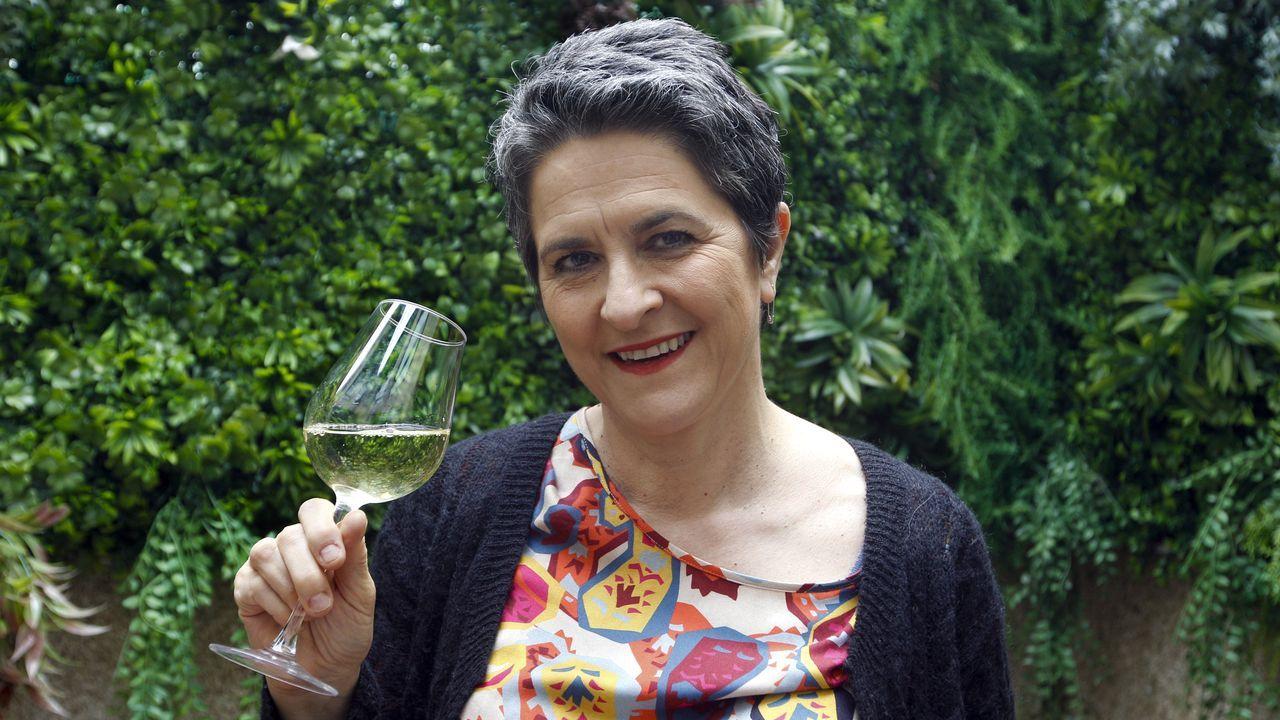 La enóloga arousana se traslada al Instituto de Ciencias de la Vid y el Vino de Logroño