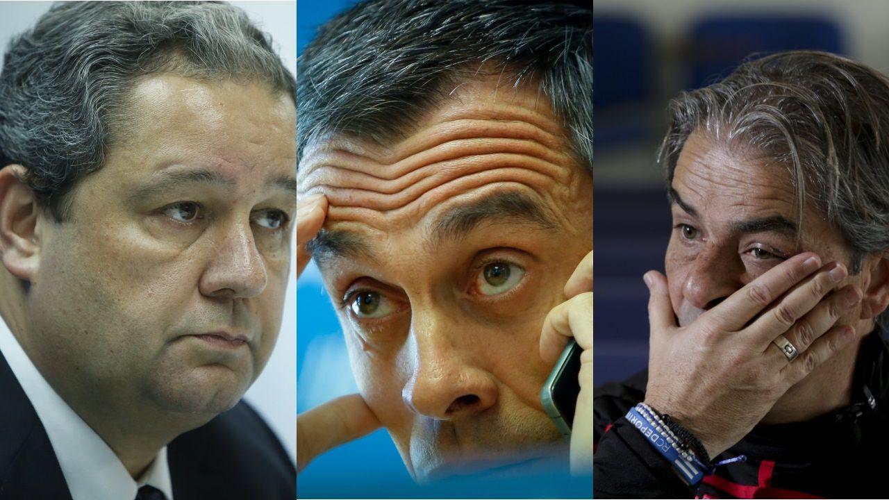 El paso de Natxo por el Deportivo en imágenes.Los silbidos y los gritos de «directiva, dimisión» acompañaron la marcha del equipo