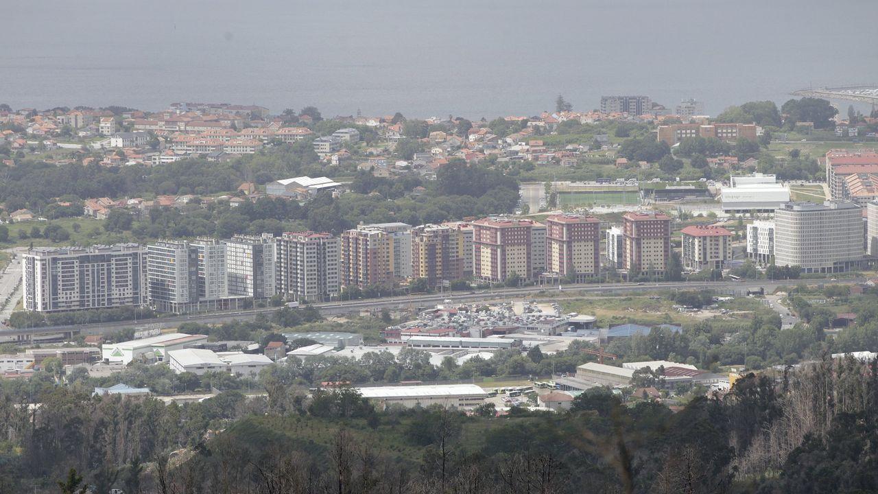 Vista genérica del barrio de Navia