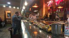Barra de un bar de Oviedo