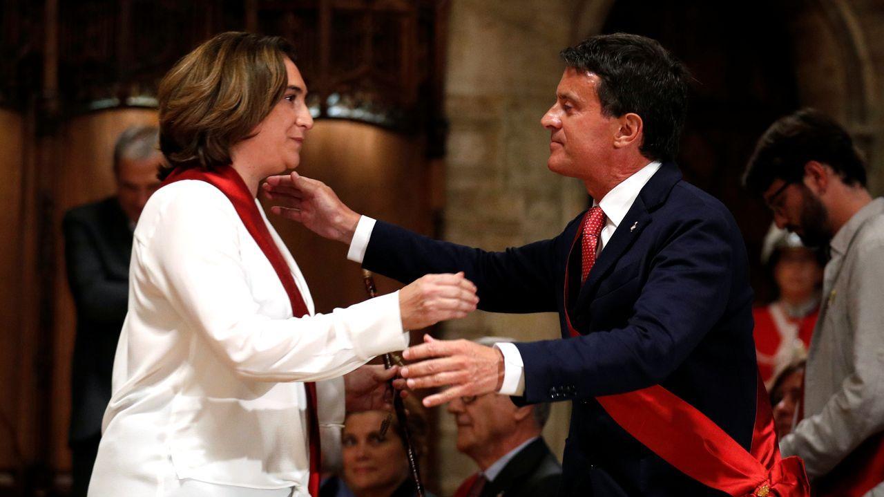 Los cinco años de reinado de Felipe VI en imágenes.Manuel Valls le dijo a Colau que solo su responsabilidad de Estado le habían hecho darle su apoyo para que fuese alcaldesa
