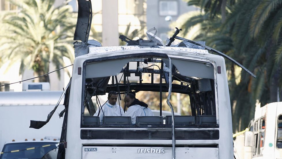 El día después de los atentados en Túnez.El secretario general de la Organización Meteorológica Mundial (OMM), este miércoles en Génova.