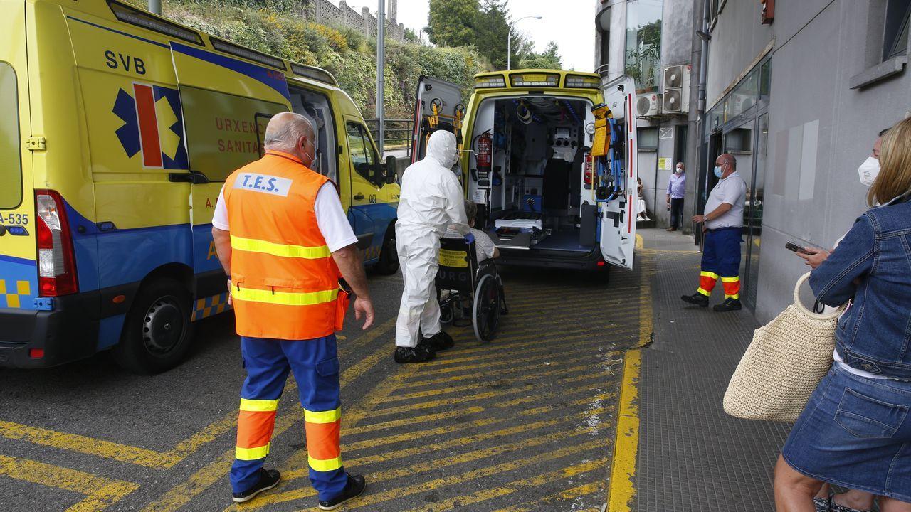La ocupación hospitalaria de pacientes covid sube en Montecelo, donde este viernes había 25 enfermos en planta y 5 en uci