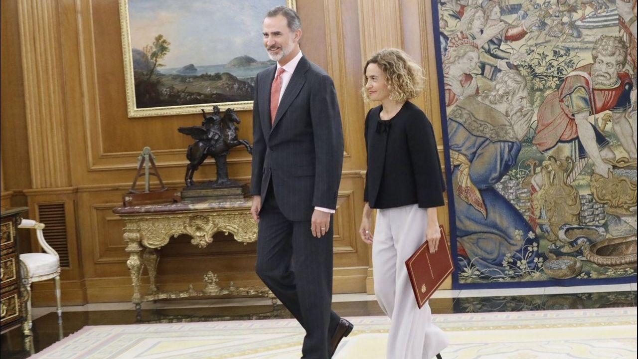 La selección española de baloncesto ya está en España.Pablo Iglesias aplaude y recibe el apaluso de la bancada de Unidas Podemos, tras su intervención el miércoles en la  sesión de control al Gobierno en funciones