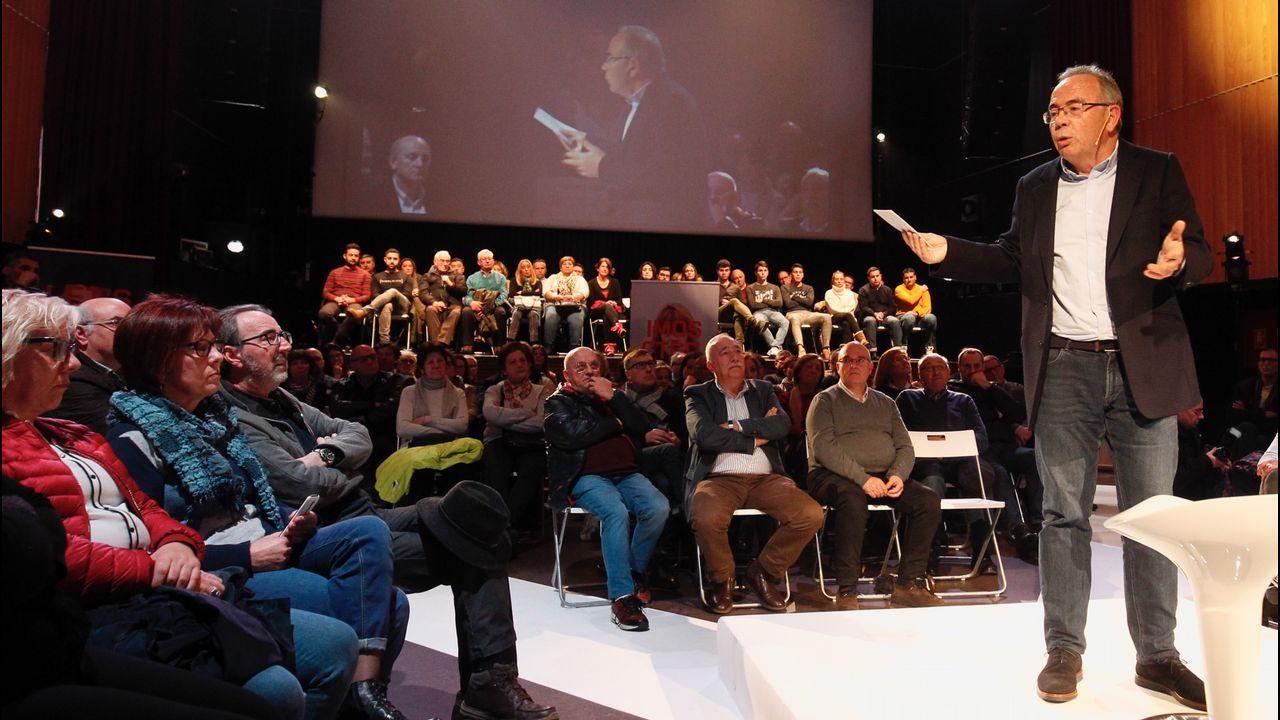 Imagen del acto de fin de semana de En Marea previo a las elecciones del 2016 a la Xunta