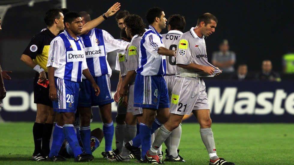El Deportivo, en Río.Último partido en Primera entre Dépor y Alavés, en mayo del 2006
