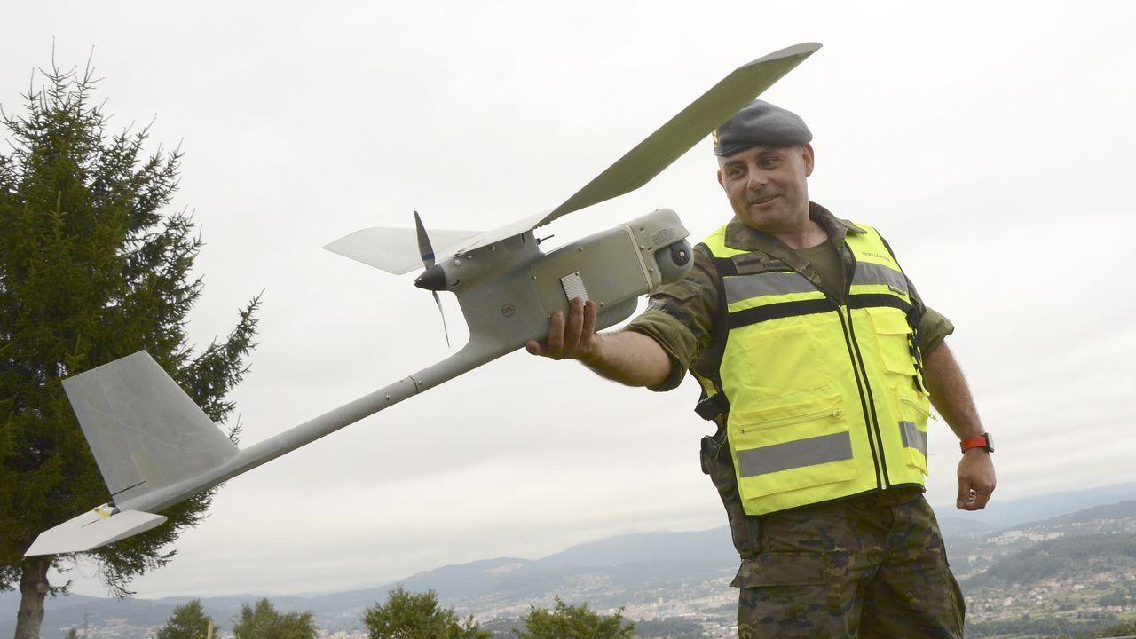 Los drones tienen un alcance de diez kilómetros y llegan hasta los 300 metros de altura