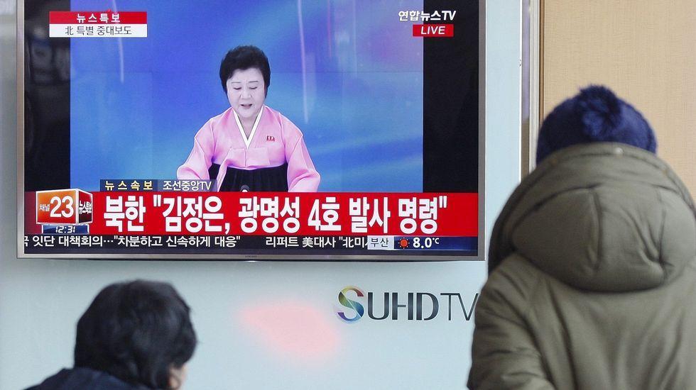 Solo 46 horas de felicidad.Corea del Sur lanza un proyectil hacia el mar de Japón