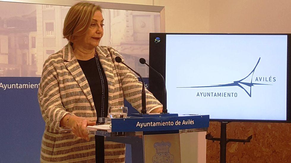 La alcaldesa de Avilés, Mariví Monteserín.La alcaldesa de Avilés, Mariví Monteserín