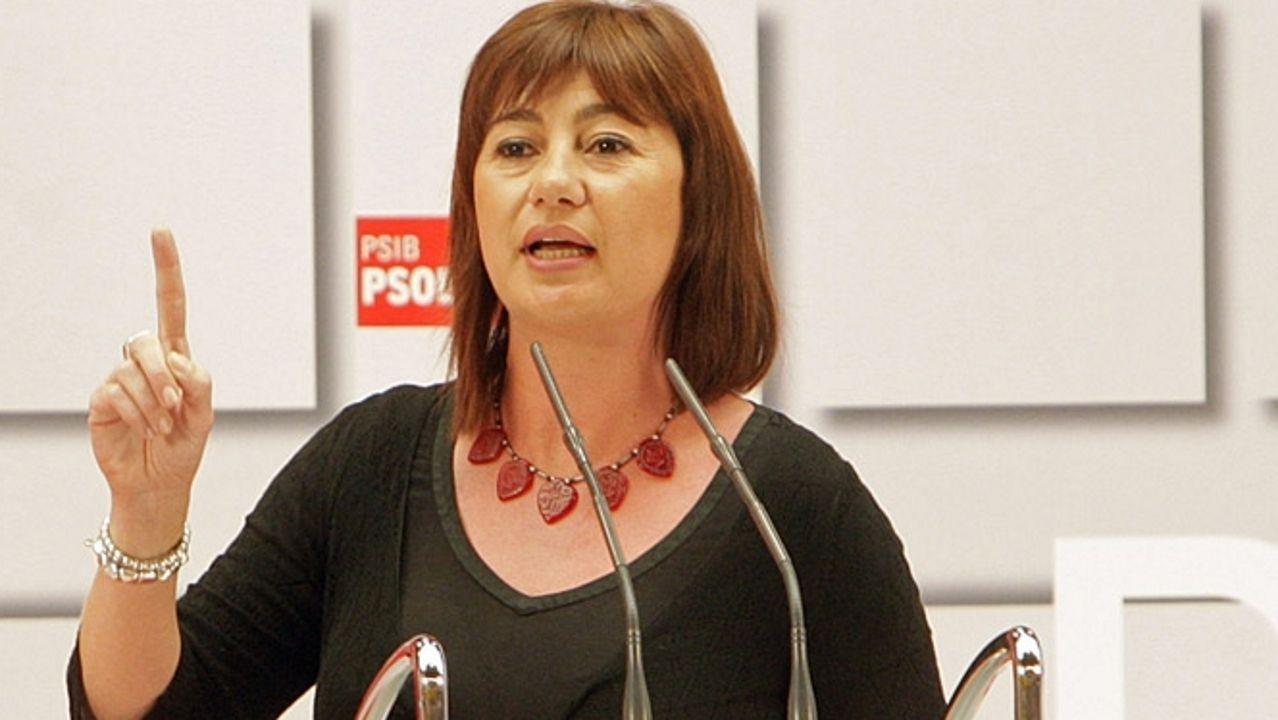 La presidenta del Gobierno de Baleares, Francina Armengol