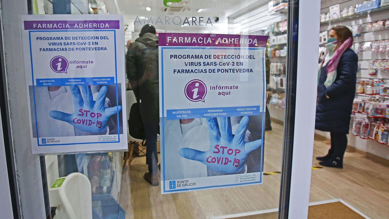 En la provincia de Pontevedra son 381 las farmacias que se han sumado al programa de cribado