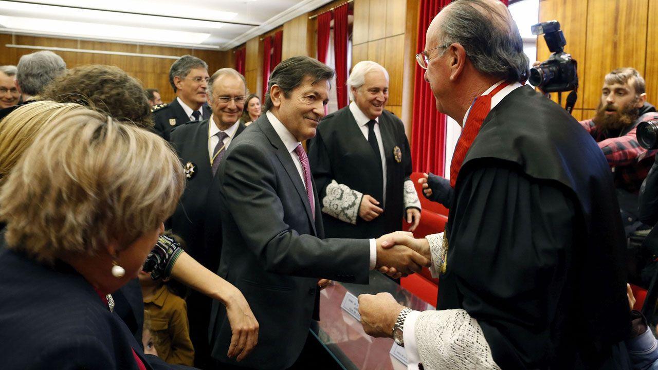 La élite de la justicia asturiana.Miembros de la Unidad Clínica de Conductas Adictivas, ubicada en la Facultad de Psicología de la Universidad de Oviedo