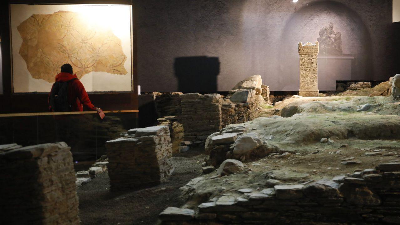 Domus do Mitreo de Lugo, donde se encontró el templo dedicado al dios Mitra