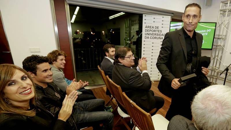 Feijoo recibe a los deportistas gallegos en Río.La nueva profesión de Begoña no le ha hecho olvidar su pasión por el balonmano