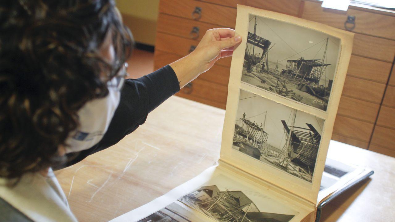 Además de 25000 de planos de Astano, el archivo de Exponav también custodia 67.000 fotografías del astillero fenés