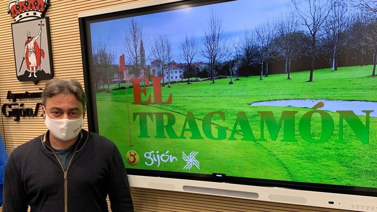 Tuero presenta el proyecto de El Tragamón