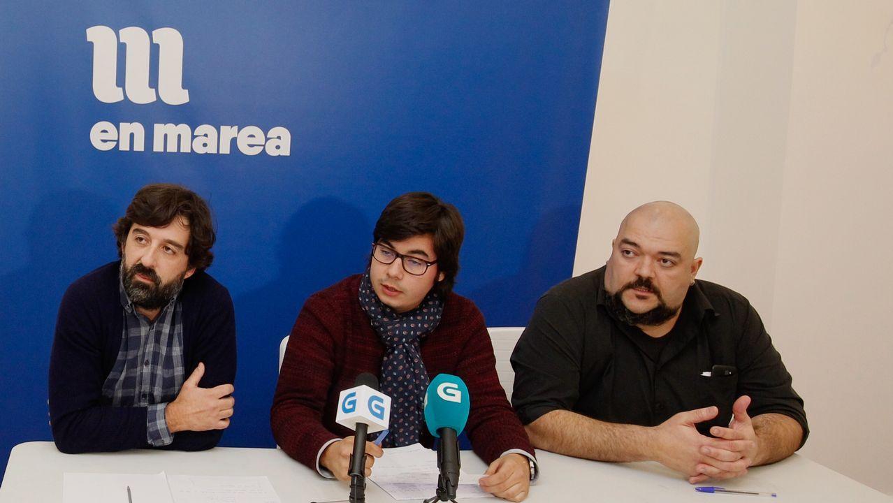 Luís Villares defiende la suspensión cautelar de las primarias.Rodríguez, responsable del censo, compareció ayer