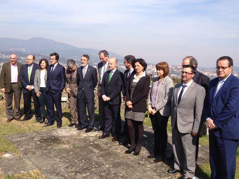 Alcaldes lusos y gallegos firmaron el acuerdo
