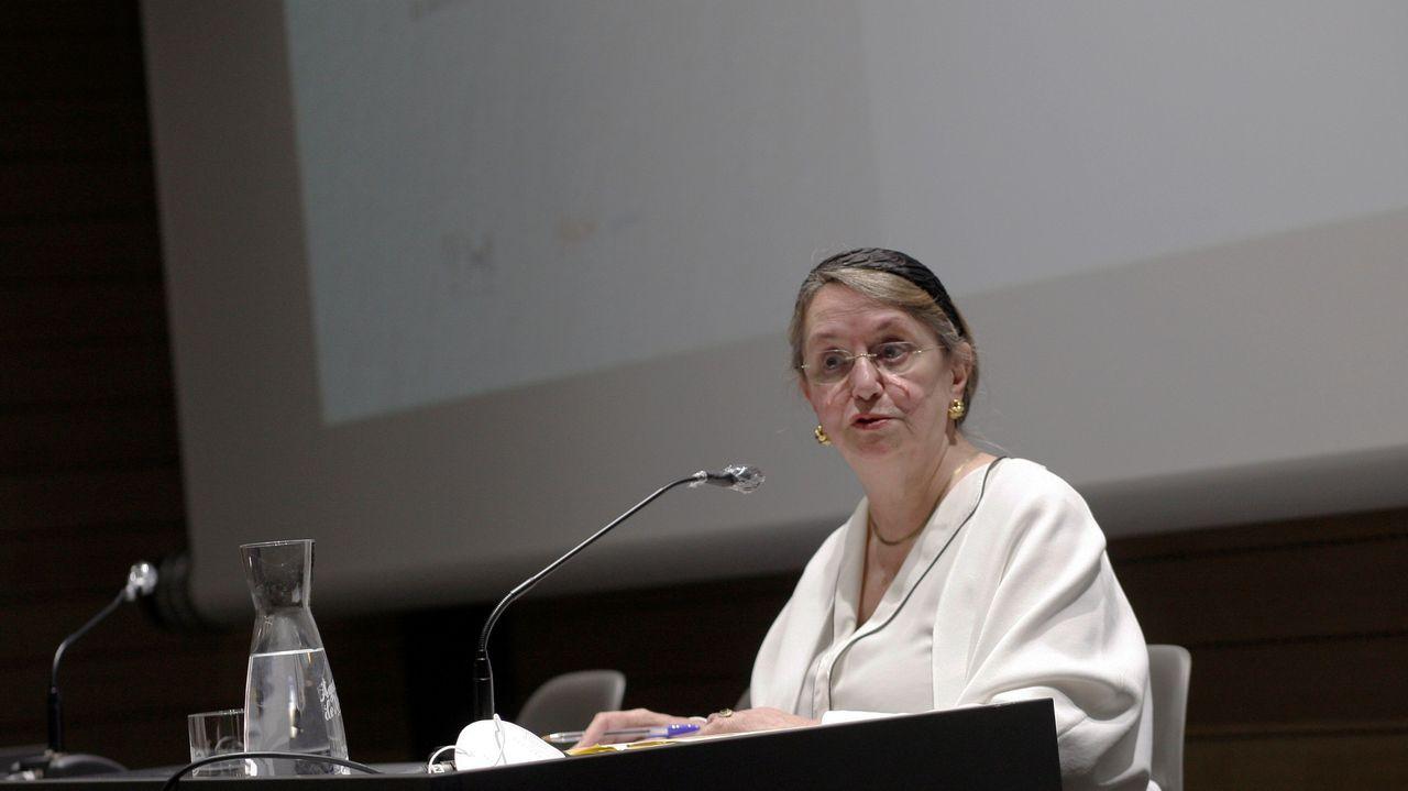 El colapso en Madrid llega a los hospitales, con centros completamente bloqueados.La filósofa Amelia Valcárcel (d) pronuncia este miércoles junto a la alcaldesa de Gijón, Ana González (i) la conferencia inaugural de la Escuela Feminista Rosario Acuña en Gijón.