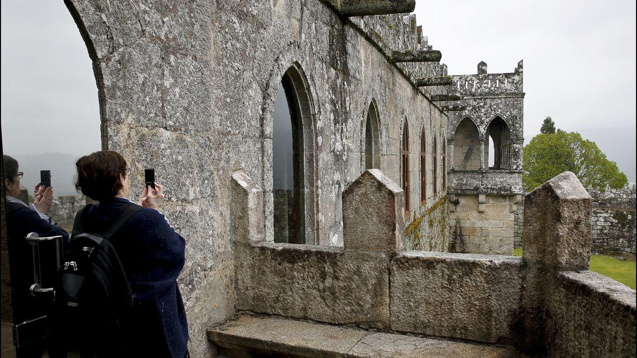El castillo de Soutomaior se abre al turismo del siglo XXI.Simulación del área de interpretación de Tabacalera