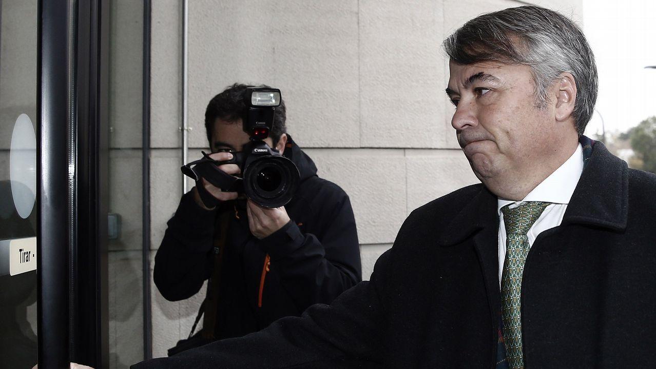 Agustín Martínez, abogado de tres de los jóvenes acusados