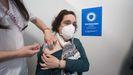 La administración masiva de la vacuna en Lugo en imágenes