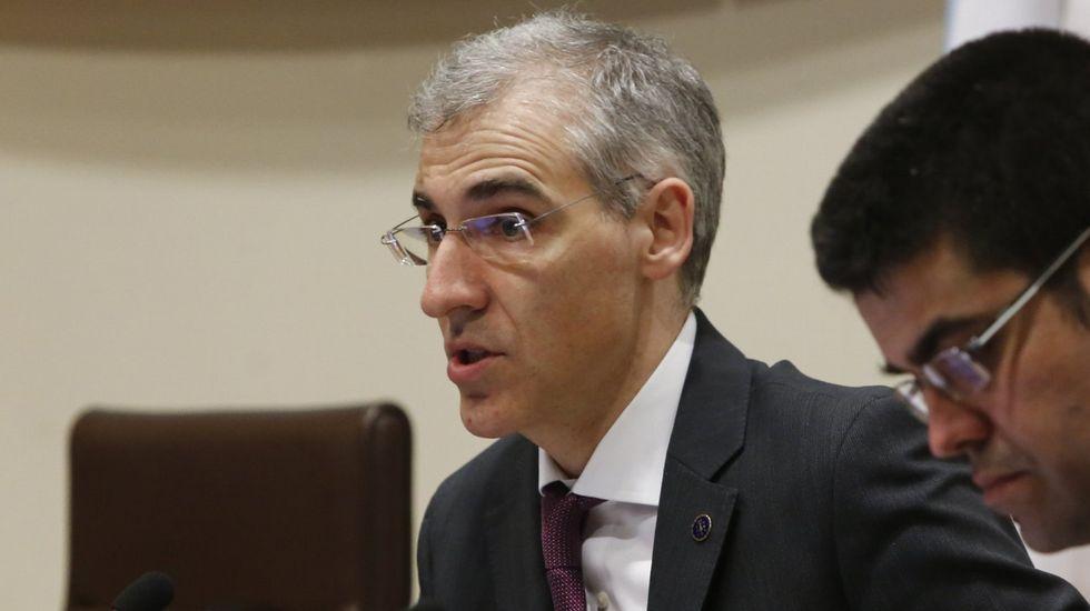 Francisco Conde, conselleiro de Economía.