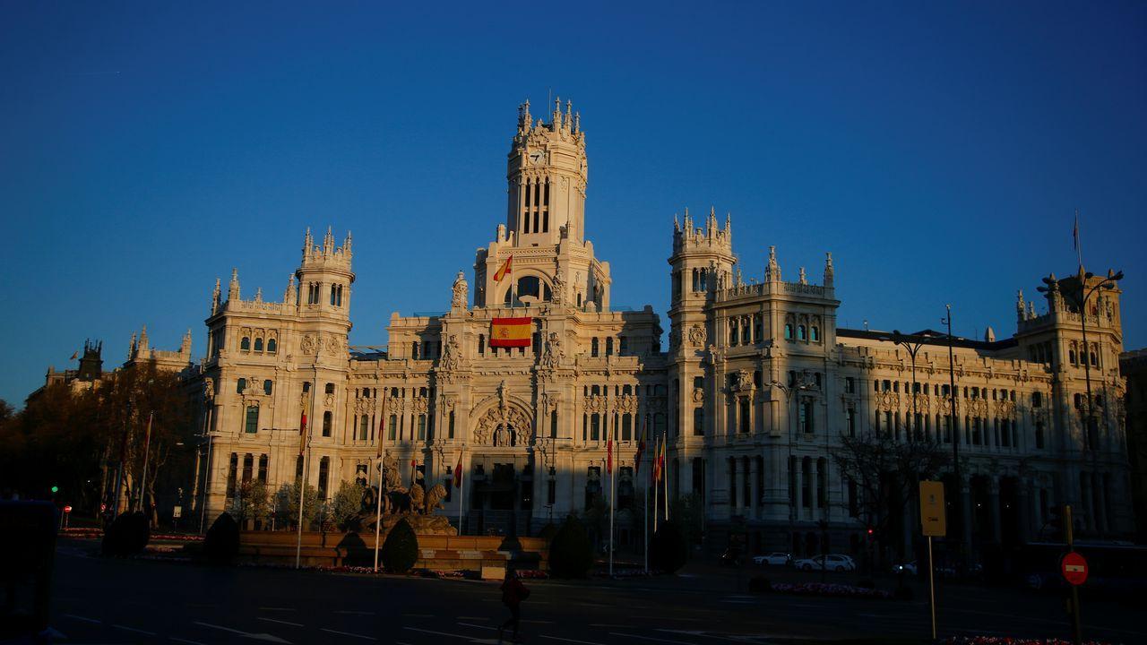 En centro de Madrid, sin actividad