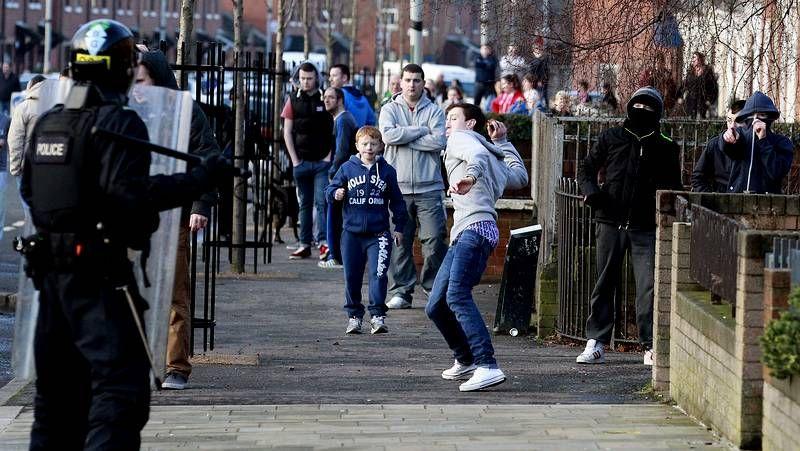 Violencia en Belfast