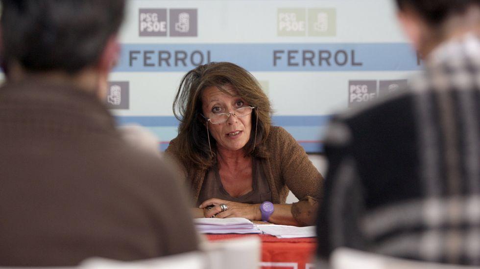 En una rueda de prensa en el 2011, donde presentó el programa de Igualdad como número 3 del PSOE al Congreso