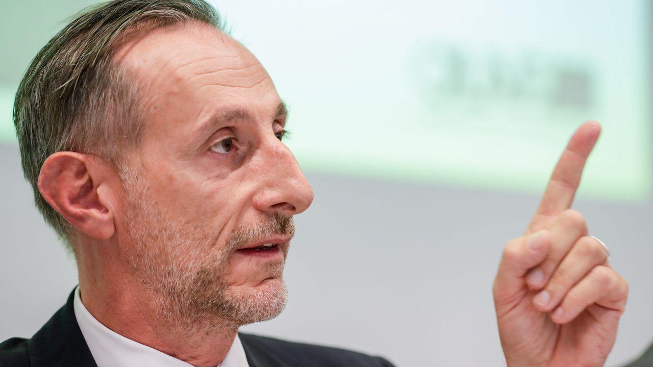El director de investigaciones Ernesto Bianchi presentó el informe de fraude 2018 de la UE
