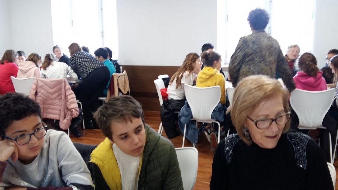 La organización del salón educativo corrió a cargo del IES Leixa