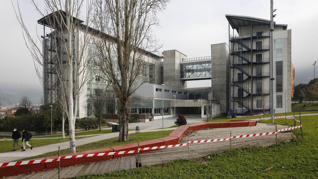 Vista del campus de Ourense