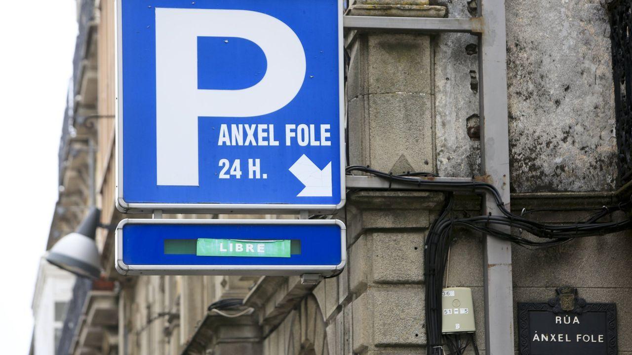 El Ánxel Fole es el mayor aparcamiento del centro de la ciudad de Lugo