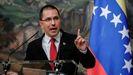 El ministro de Exteriores relevado, Jorge Arreaza