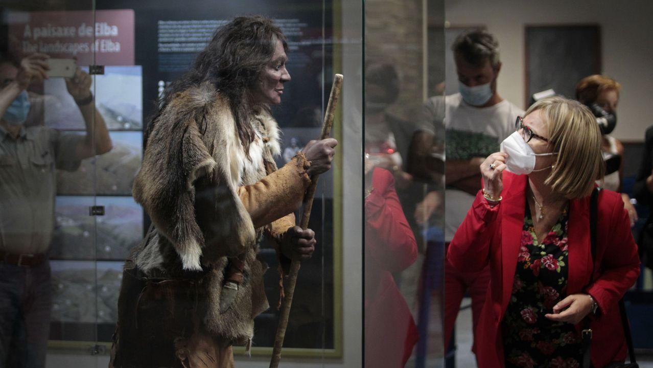 Las fotos de la inauguración del nuevo museo geológico de Quiroga.Vendimia para la bodega Algueira, una de las más marugadoras en Ribeira Sacra
