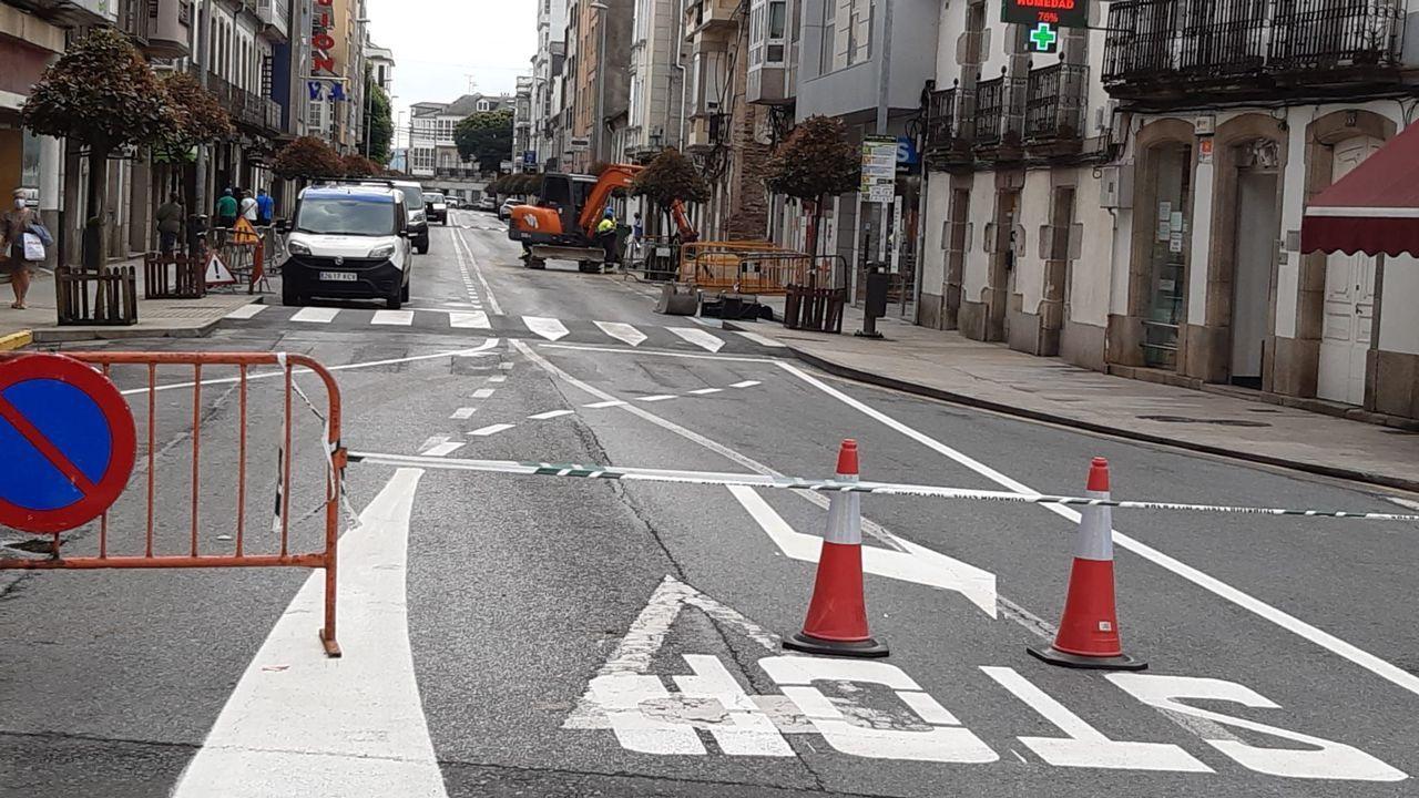 La calle es ahora de un solo sentido, hacia Campo de Puente