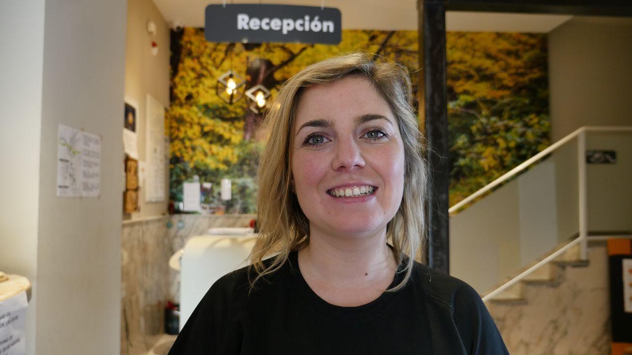 Iria Barba es la responsable del albergue Zendoira de Palas de Rei. Ella y su socio hicieron un estudio de mercado antes de abrir