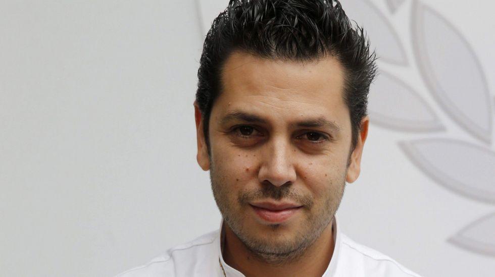 El cocinero Pedro Noriega.El cocinero Pedro Noriega