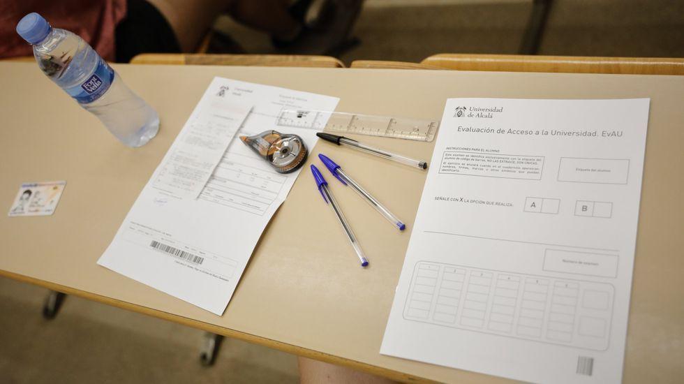 Examen de selectividad 2019-20 en Madrid