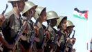 Soldados saharahuis en Tifariti (Sáhara Occidental), en una imagen de archivo