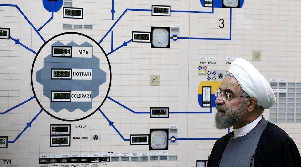 menores.El presidente Rohaní en una visita a la central nuclear de Bushehr