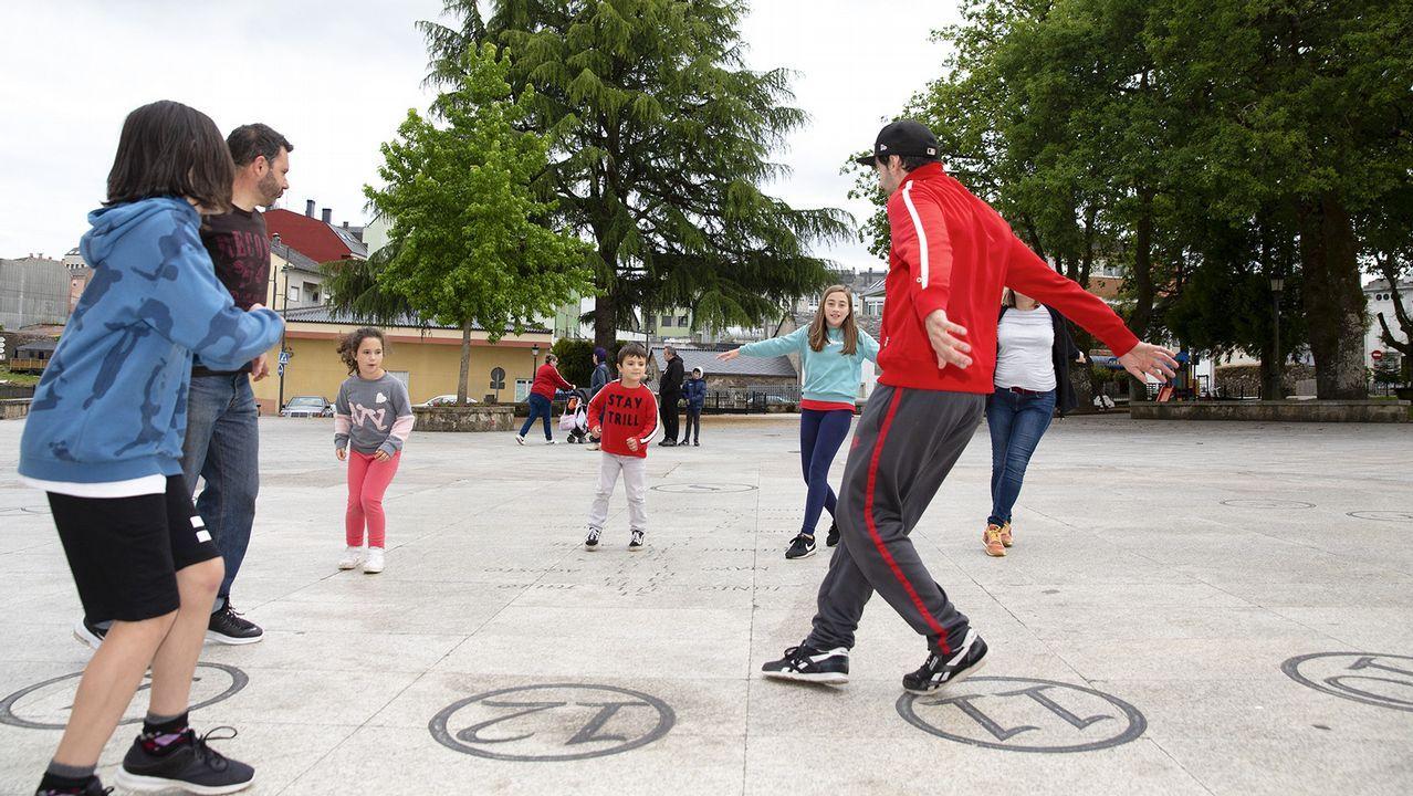 Parque de aventuras de San Roque, en Viveiro.La Escola Municipal de Música actuará esta tarde